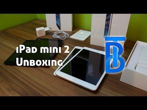 Unboxing: Apple iPad mini 2/Retina Display - (Spacegrau & Silber) [German/Deutsch]