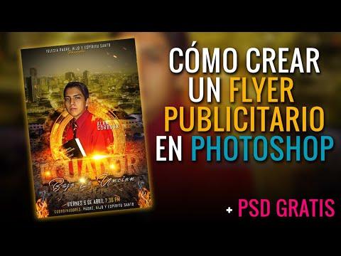 Como Hacer Un FLYER CRISTIANO En Photoshop L Afiches Cristiano 2019 L Tutorial #8