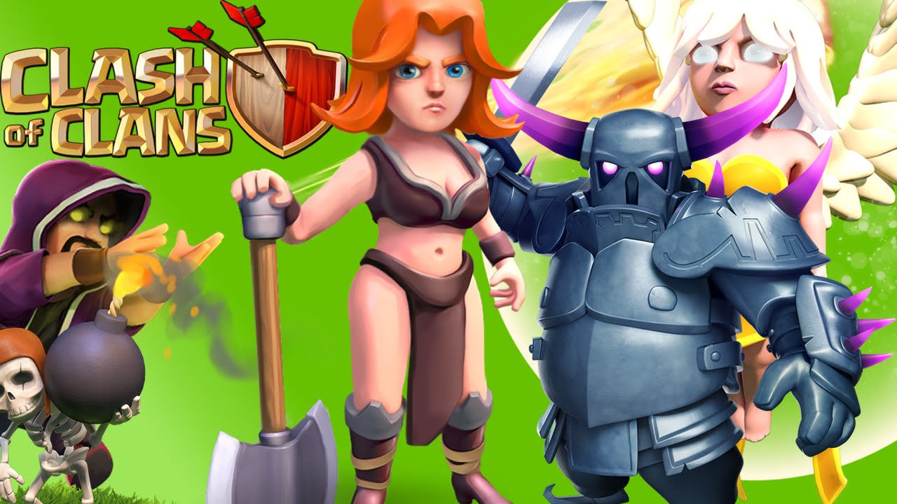 clash of clans girl hot
