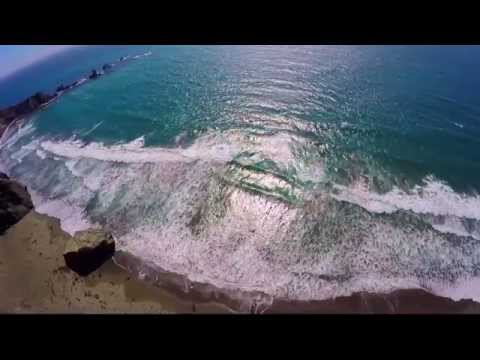 CRASHED MY DRONE INTO THE OCEAN!