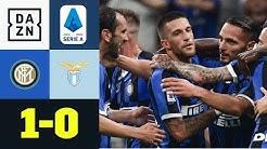 Inter weiter ohne Punktverlust: Inter Mailand - Lazio Rom 1:0   Serie A   DAZN Highlights