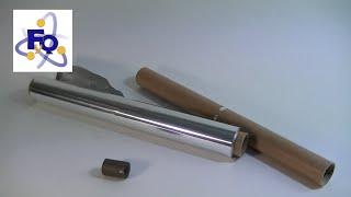 Electromagnetismo por un tubo
