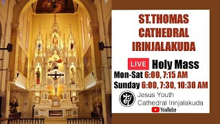 Holy Mass Live | 6:00 AM | St Thomas Cathedral Irinjalakuda | 14 Jan  | Jesus Youth | Live | Today