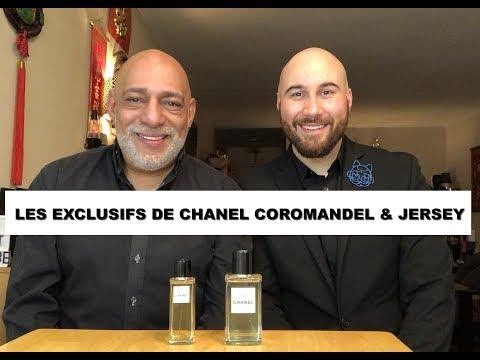 Les Exclusifs de Chanel Coromandel and Jersey Eau de Parfum REVIEW with Gabriel + GIVEAWAY (CLOSED)