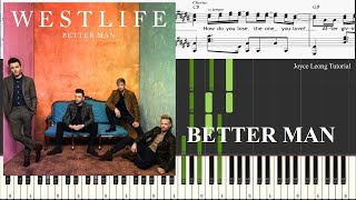 Gambar cover Westlife - Better Man (Piano Cover & Sheets)