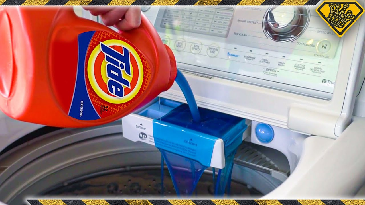 What Happens When You Use TOO MUCH Laundry Detergent? TKOR's How To Do Laundry Guide {Or Not}