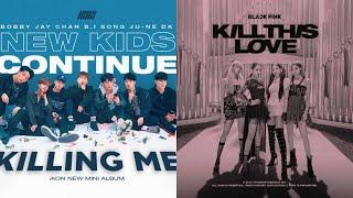 iKON - 죽겠다(KILLING ME) BLACKPINK 'Kill This Love' Mashup