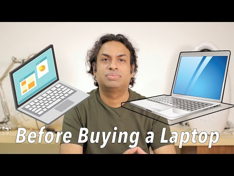 Top 10 Points Before Buying A New Laptop in 2020