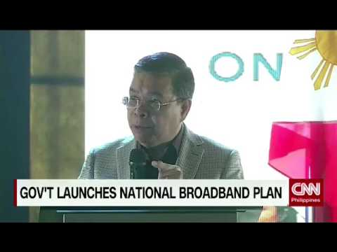 Government launches national broadband plan