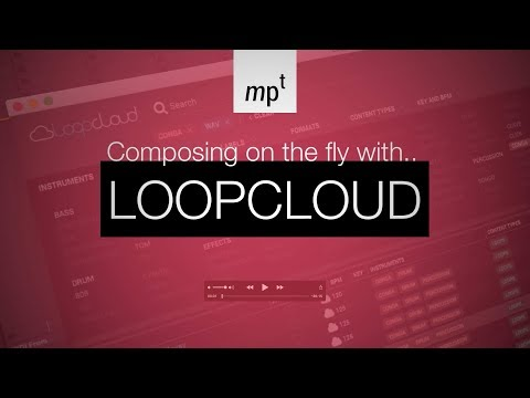 Loopcloud - Composing a track in Ableton Live 10 (Beta)