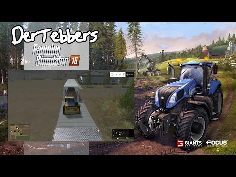 Farming Simulator 15 - California Life - 006 - Loading Cherry Freight