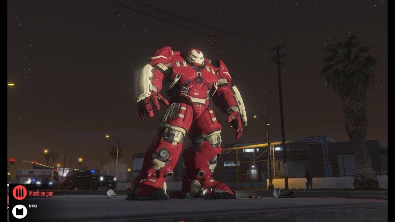 GTA X Scripting: GTA V - Ironman mini Hulkbuster armor