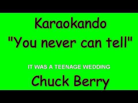 Karaoke Internazionale - You never can tell - Chuck Berry ( Lyrics )