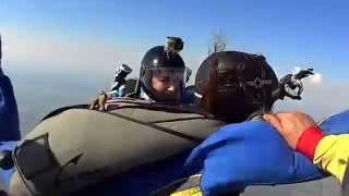 Обучение прыжкам с парашютом свободное падение