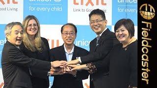 LIXILとユニセフが衛生環境の改善に向けたパートナーシップを締結!