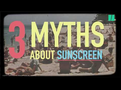 Don't Be Fooled By These Common Sunscreen Myths