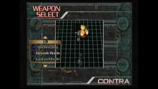 Neo Contra: Weapon Selection ps2
