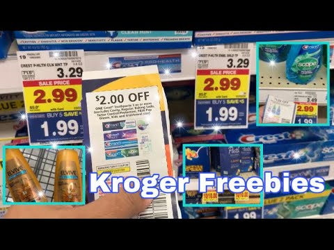 SO MANY FREEBIES AT KROGER MEGA EVENT USING DIGITAL COUPONS | KROGER HAUL | COUPONING DEALS