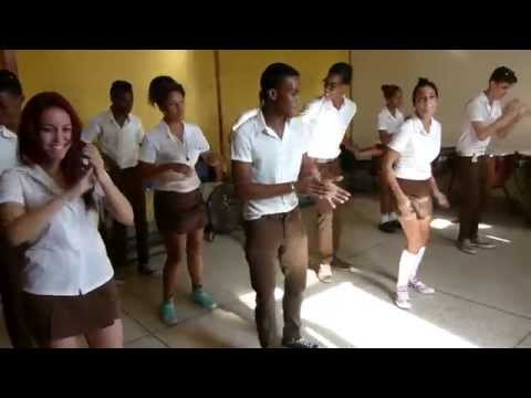 Cuban body percussion.