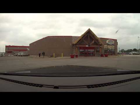 Alaska Trip Day 1 Springfield, IL to Fargo, ND Driving Time Lapse