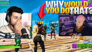 How I RUINED Tim's FIRST FASHION SHOW! Ft. CourageJD (Fortnite Battle Royale)