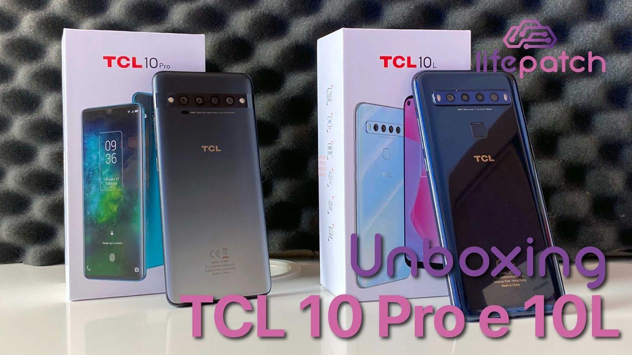 Novos TCL10 Pro e 10L fora da caixa!