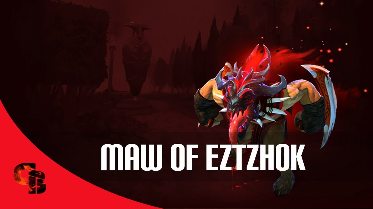 dota 2 store bloodseeker maw of eztzhok immortal youtube