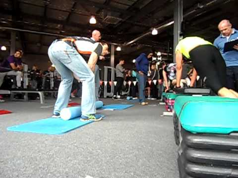 Cross Training XT UK - Gym Ironman Intermediate Final. Grace Collins, Rebecca Witter and Dal Dhillow