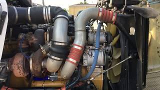 2005 Kenworth W900B Engine Running