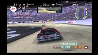 NASCAR 08 | 100% Sharpie 500 | PS2, Legend Diff, Fuel Tires Consumption On