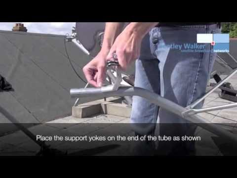 iDirect VSAT Installation