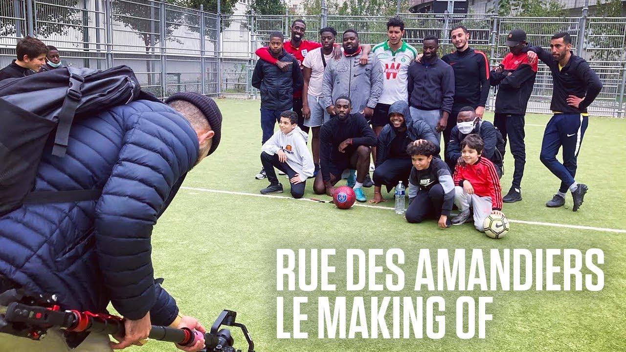 Rue des Amandiers - Le Making Of