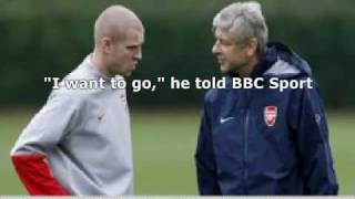 Senderos confirms his desire to leave Arsenal