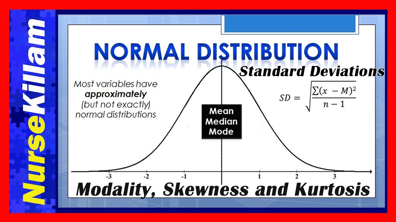Normal distributions standard deviations modality skewness and normal distributions standard deviations modality skewness and kurtosis understanding concepts youtube falaconquin