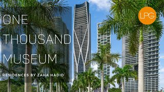 Tour Miami's NEWEST Luxury Tower | One Thousand Museum by Zaha Hadid