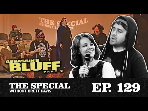 """The Special Ep. 129: """"Assassin's Bluff Part 2"""" with Dasha Nekrasova & El Silver Cabs"""