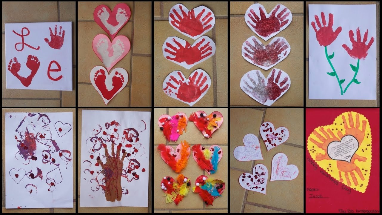 9 Valentine S Day Crafts For Toddlers Kids Youtube