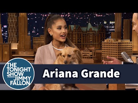 Thumbnail: Ariana Grande Shows Off Her Winking Dog Toulouse and Sassy Nonna