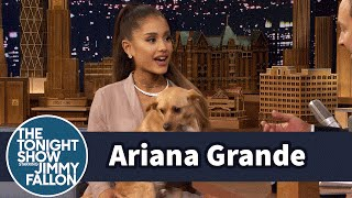 Download Ariana Grande Shows Off Her Winking Dog Toulouse and Sassy Nonna Mp3 and Videos