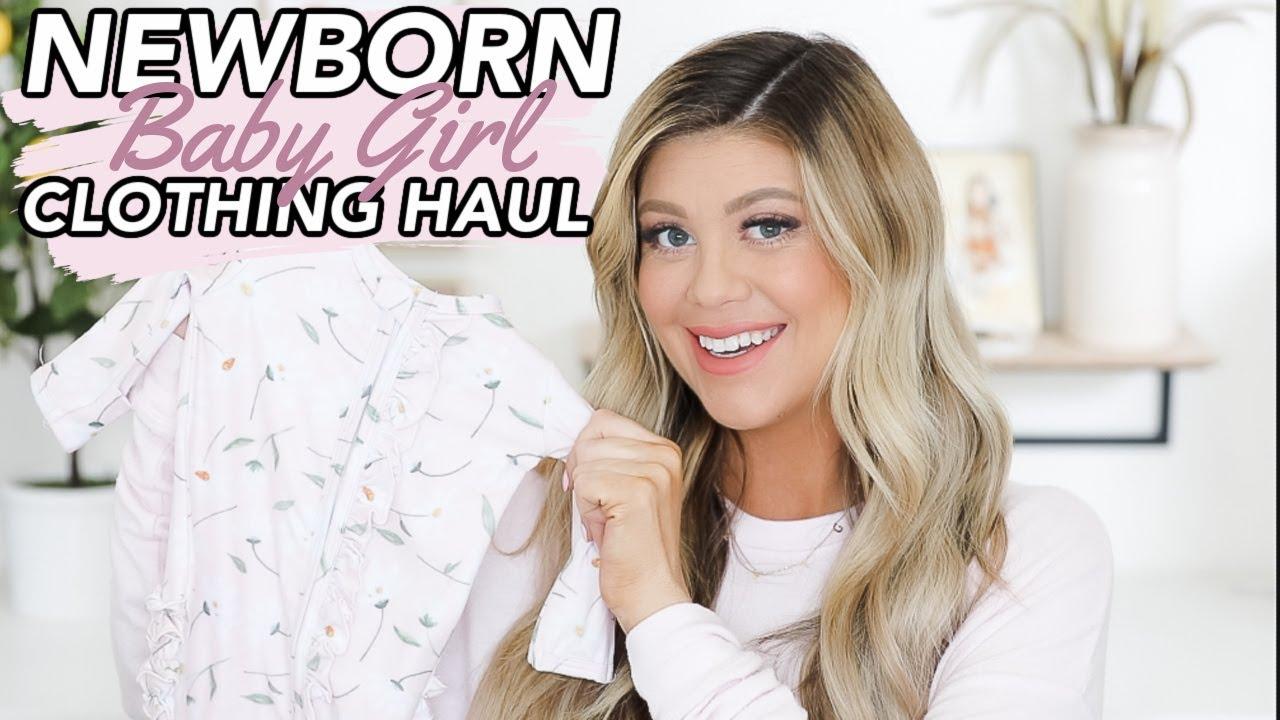 HUGE NEWBORN CLOTHING HAUL | BEST STORES TO SHOP!