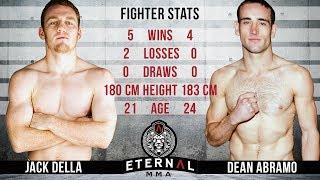 ETERNAL MMA 37 - JACK DELLA VS DEAN ABRAMO - AUSTRALIAN WELTERWEIGHT TITLE FIGHT