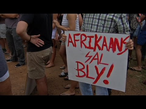 Afrikaans sal bly / Afrikaans must stay