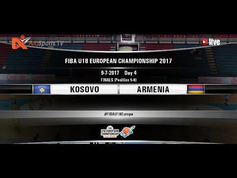 FIBA U18 EUROPEAN CHAMPIONSHIP | 09July2017 KOSOVO vs ARMENIA 1st half