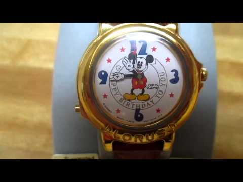 Lorus Mickey Mouse Musical Watch 3