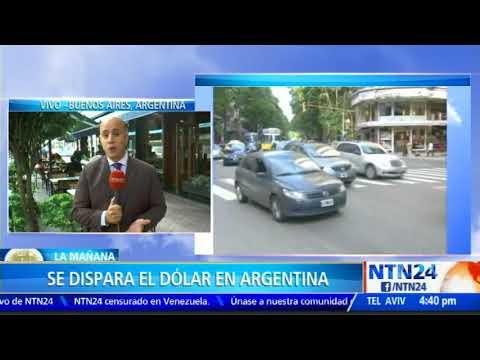 Dólar se disparó en Argentina y el Gobierno teme por el aumento de la inflación