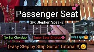 Passenger Seat - Stephen Speaks (Super Easy Guitar Tutorial)