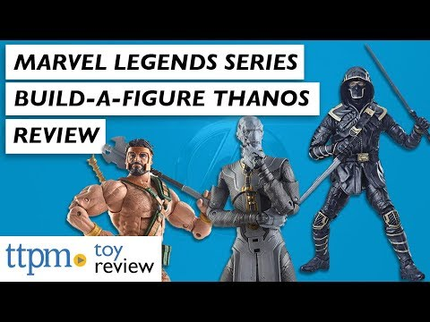Marvel Legends Series BuildAFigure Thanos From Hasbro