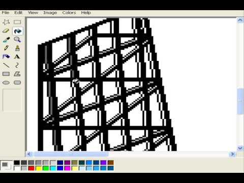 Isometric Pixel Art - John Hancock Center (Chicago skyscraper)
