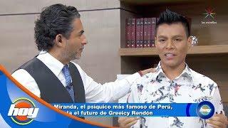 El psiМЃquico Oscar Miranda cree que Juan Gabriel esta vivo  Hoy