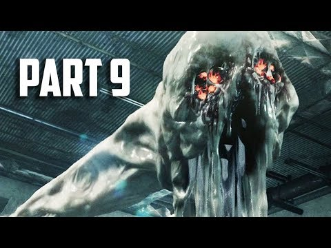 EVIL GOO BOSS - THE EVIL WITHIN 2 Walkthrough Gameplay Part 9 - CHAPTER 6 - PS4 PRO